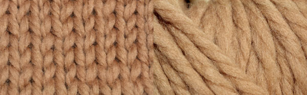 Rowan Big Wool on 10 mm needles