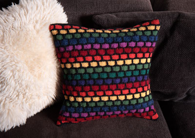 Stash-buster cushion © Suzie Blackman